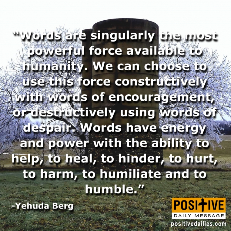The most powerful force available to humanity.....